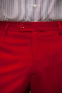 Ferrari Red Summer Trousers