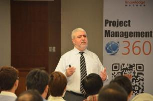 Mounir Ajam at PM360 Conference in Singapore