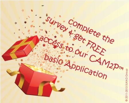 Survey for Online Application with a Gift