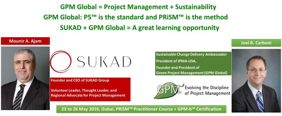 PRiSM Practitioner workshop in Dubai