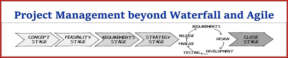 Project Management beyond Waterfall and Agile - Upcoming Book