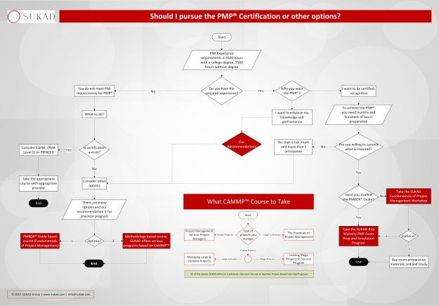 Deciding on PMP Flowchart