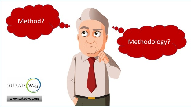 What are the differences between a method and a methodology
