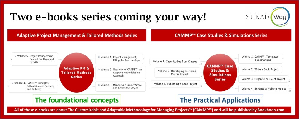Project Management, upcoming e-books series