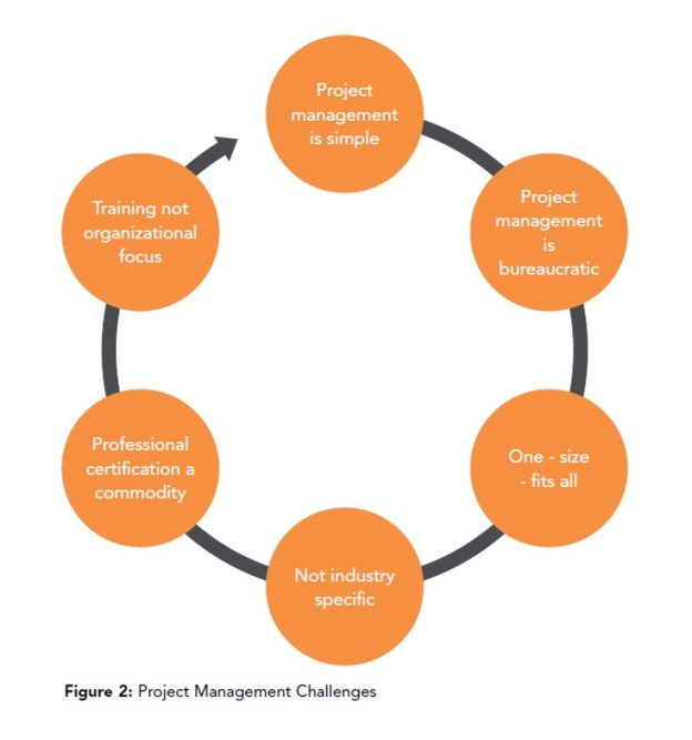 The challenges facing project management state of practice