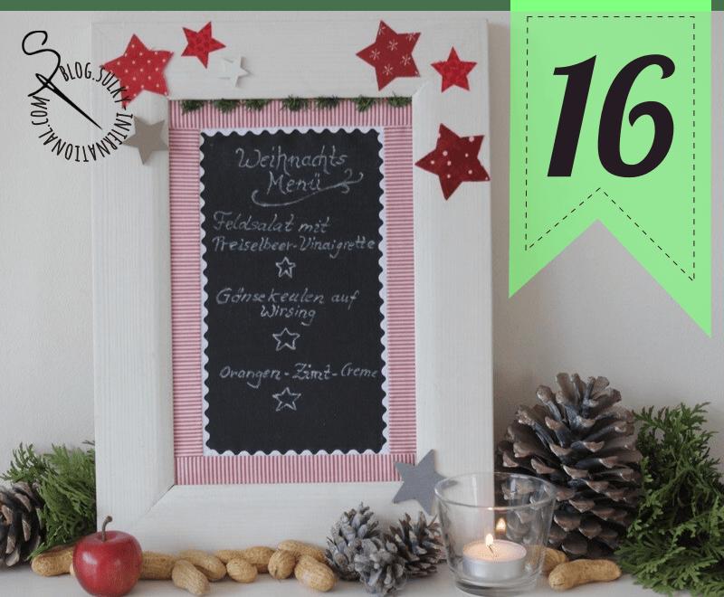 Sulky Adventskalender #16. Weihnachtsmenü. | SULKY® Blog