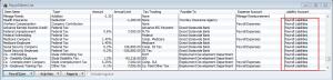 payroll item list-payroll liabilities