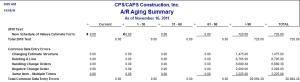 quickbooks accounts receivable summary report