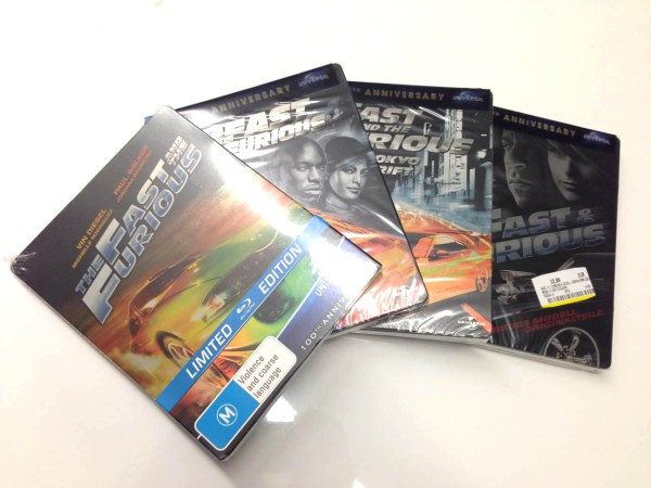 fast anf furious steelbook