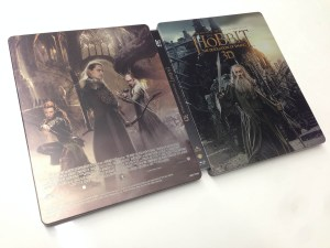the hobbit - the desolation of smaug - steelbook 3d (2)
