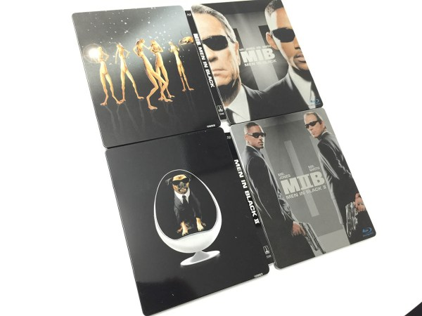 mix men in black steelbook