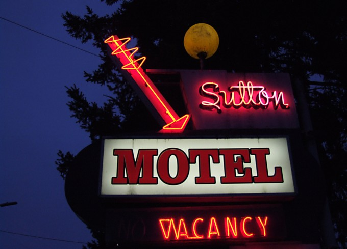 road trip USA Amerikaans Motel