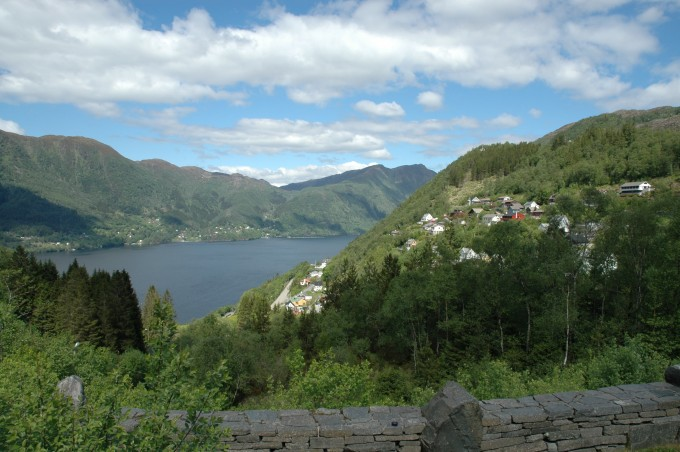 Uitzicht in Noorwegen
