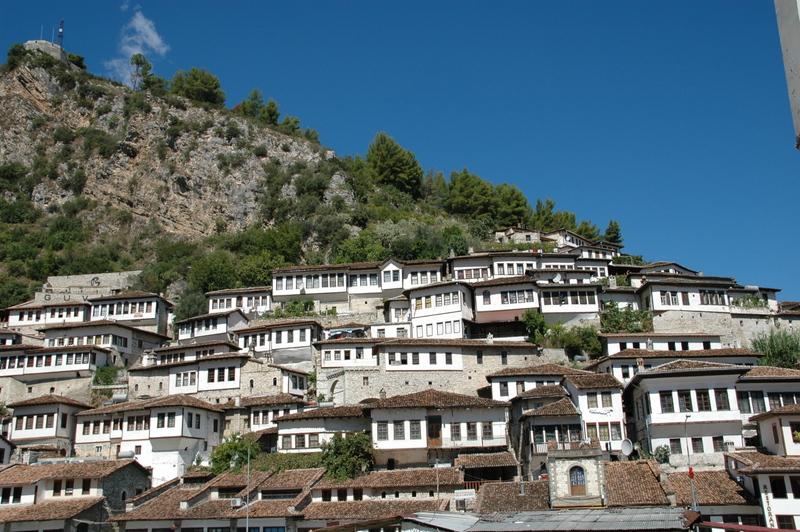 Dorpje in Albanië