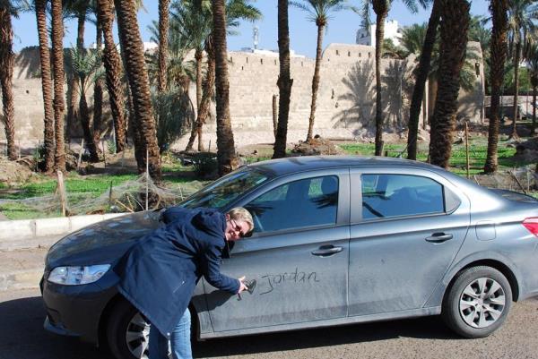 Stoffig in Aqaba
