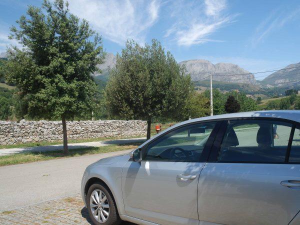 Spanje bergen scoda