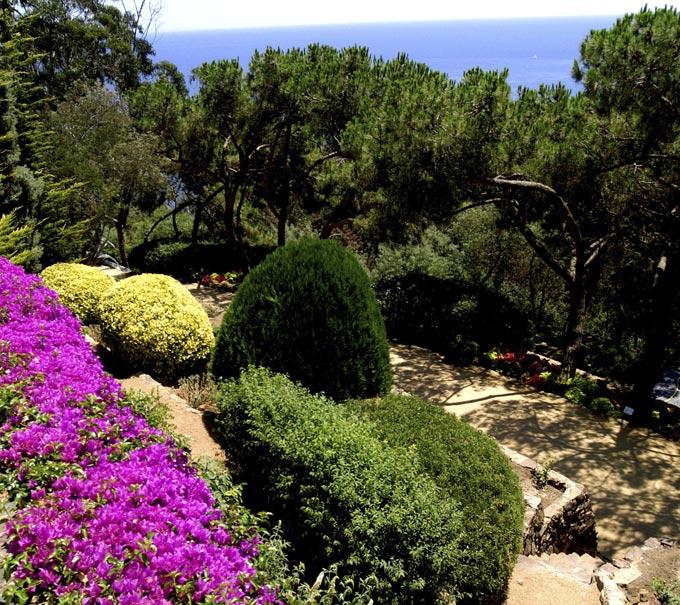 catalonie botanische tuin cap roig calella