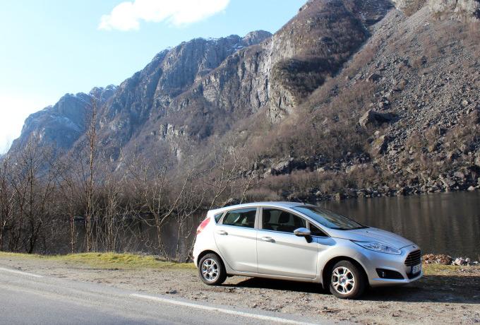 noorwegen huurauto ford mapofjoy
