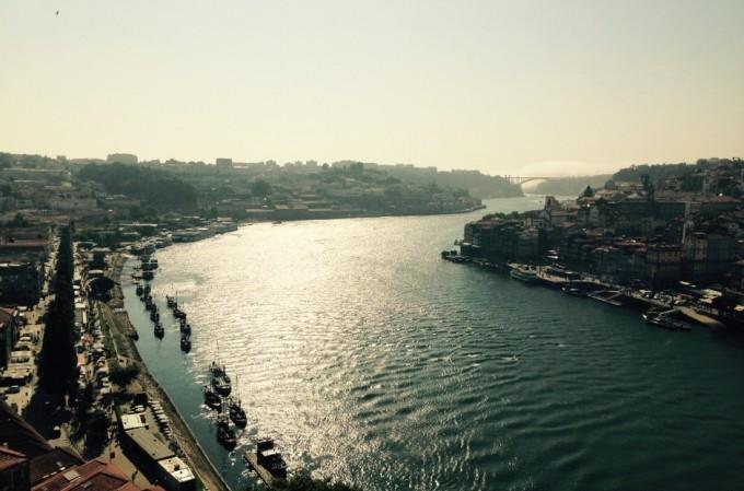 Uitzicht Porto portugal