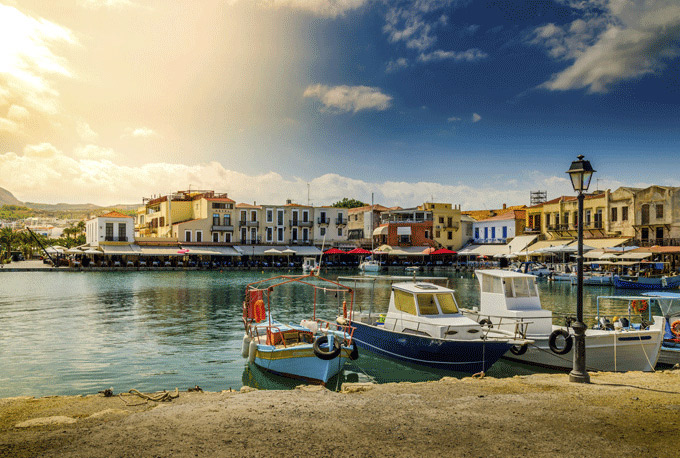 Heraklion Kreta Griekenland