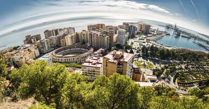 Malaga Andalusië Spanje