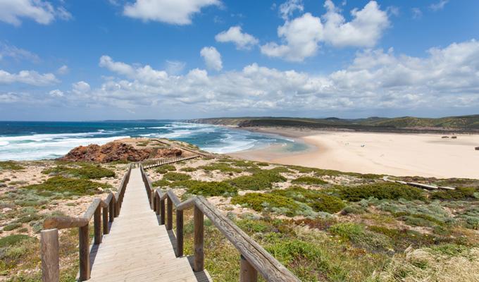 Algarve reistips Bordeira strand