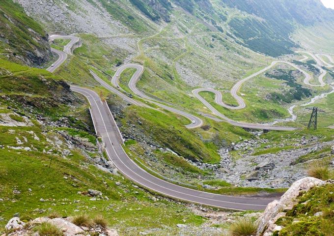 top 5 routes transfagarasan roemenie
