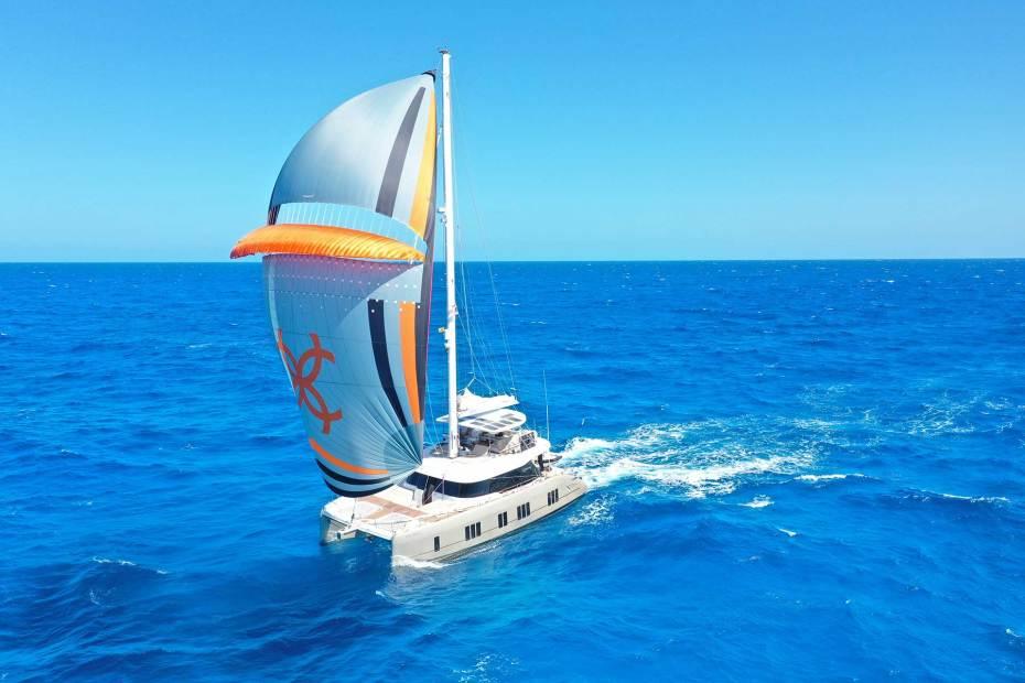 Luxury sailing yacht Sunreef 50 Paz