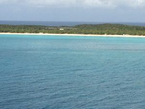 Half Moon Cay is an island in the Bahamas that is owned by Carnival. It was leased to the for 99 years at a little over six million dollars.