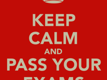 Keep Calm and Pass Your Exams