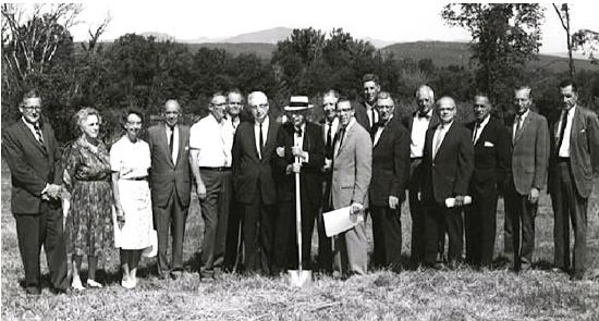 SUNY Ulster Stone Ridge Campus Groundbreaking in 1965