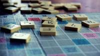 Scrabble tiles on a scrabble board