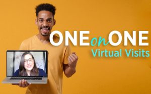 one on one virtual visits