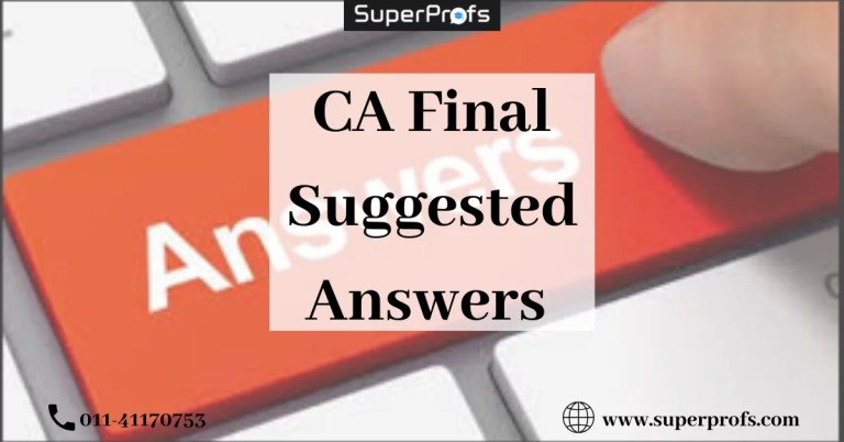 Final Suggested Answers
