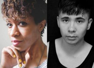 Ocean Vuong and Camille Rankine