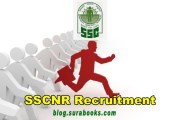SSCNR Recruiting  Clerk, Data entry Operator, Assistant Job Posts 2017