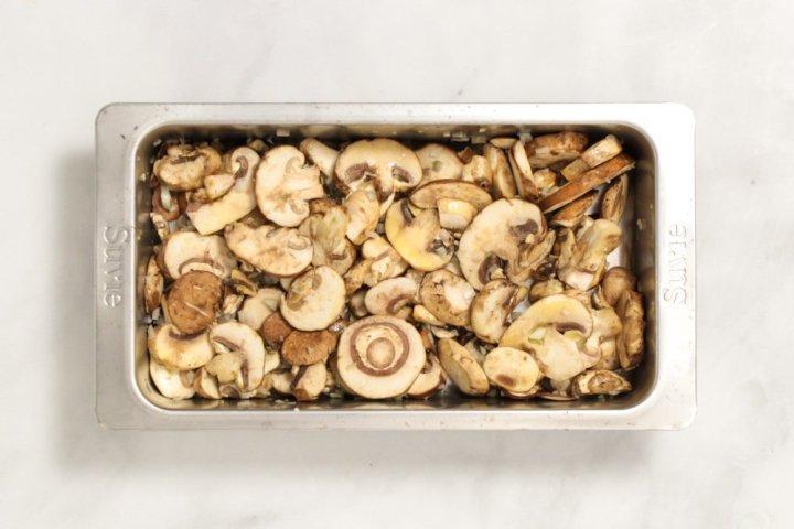 Mushroom Spinach Strata-925