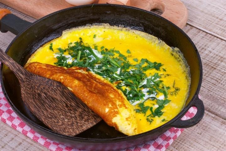 Omelet-fold