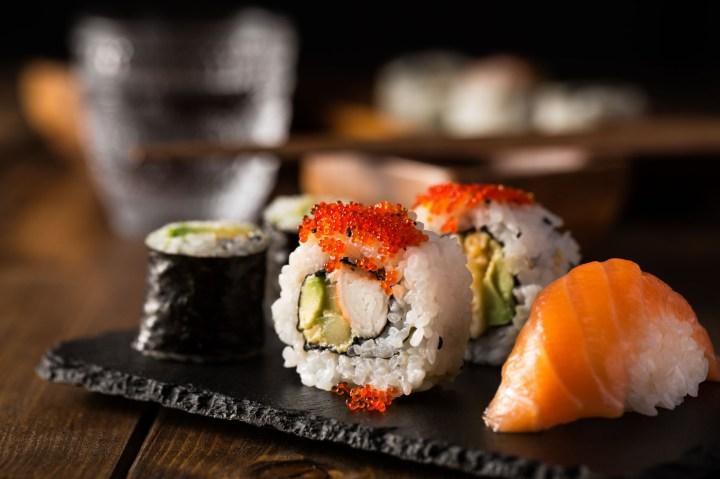 Pinot-Grigio-sushi