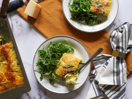 Asparagus and Crab Frittata