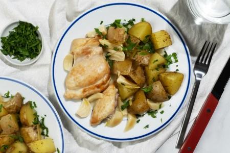 Braised Garlic Chicken