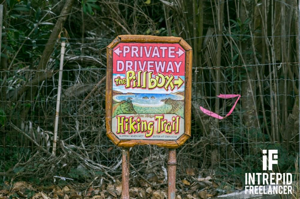 Lanikai Pillbox Hike in Oahu, Hawaii
