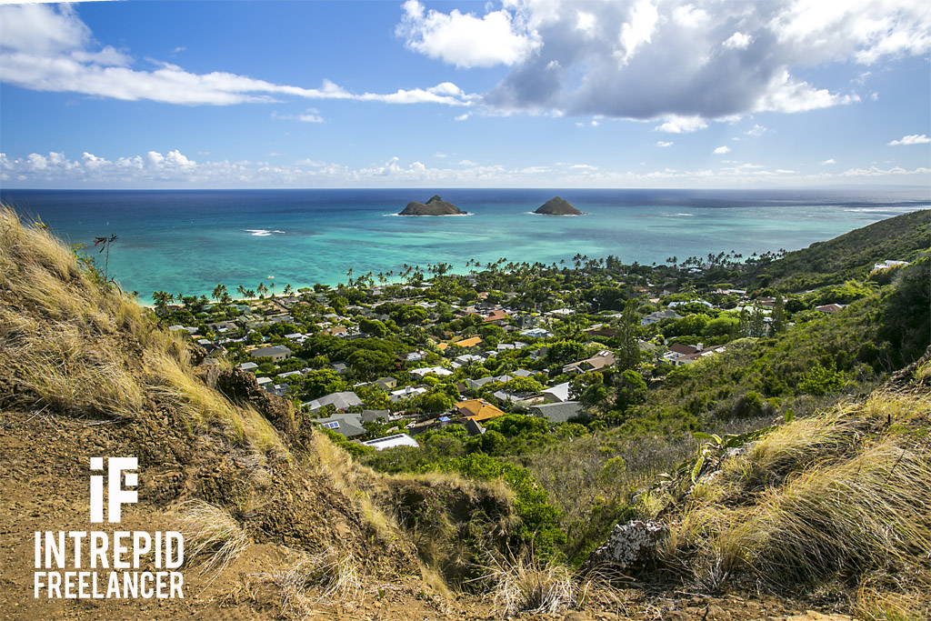 Lanikai Pillbox Hike in Oahu, Hawaii