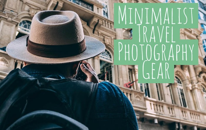 Minimalist Travel Photography Gear