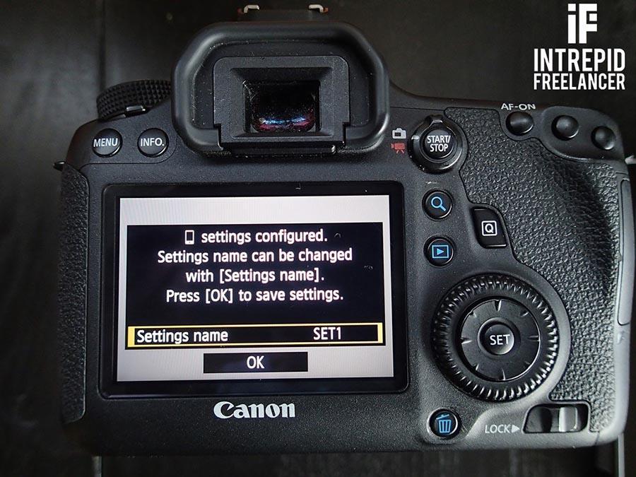 Canon 6D Wifi Manual Part 1 - Intrepid Freelancer