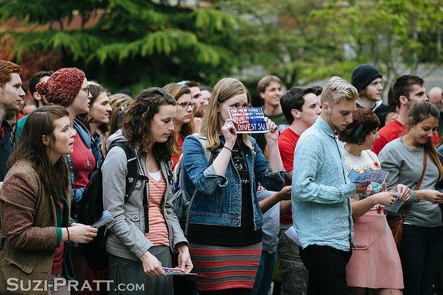 Seattle university divestment protest