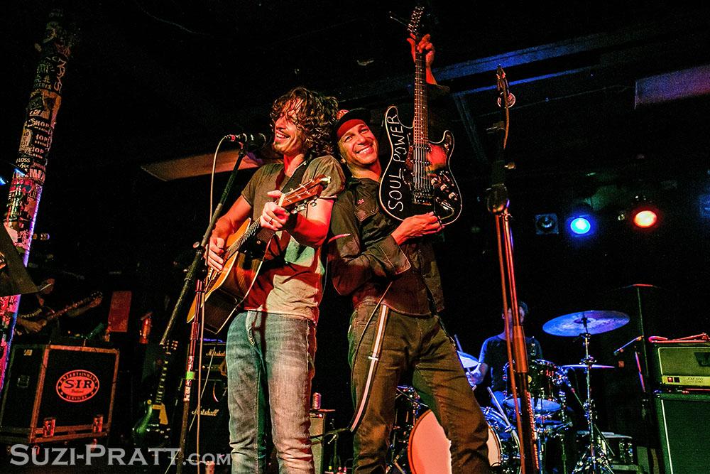 Chris Cornell and Tom Morello
