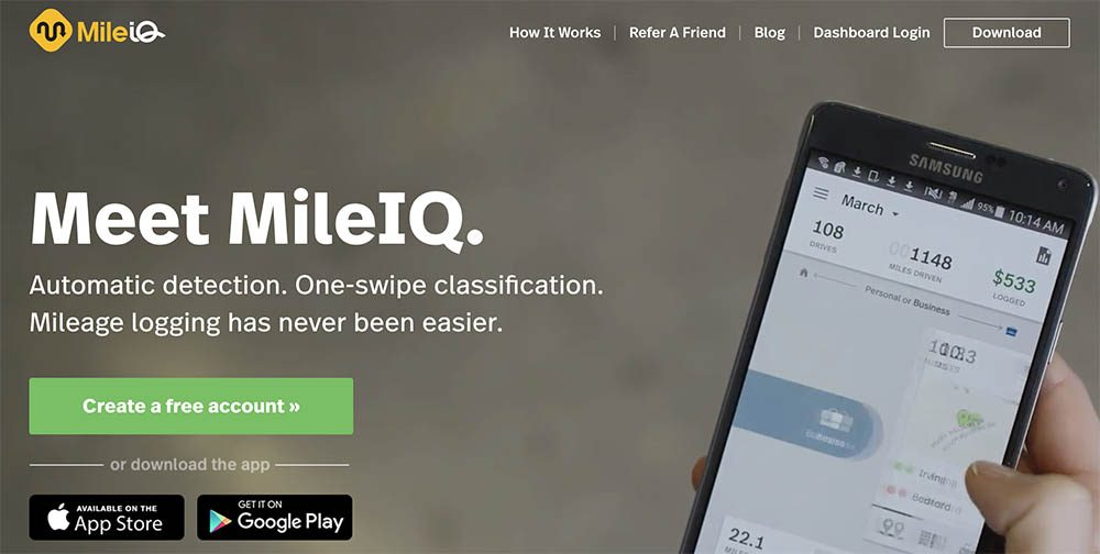 Mile IQ Business Mileage Expense