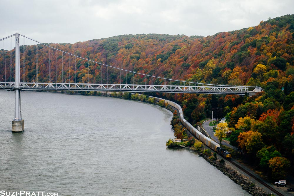 Poughkeepsie Railroad Bridge in Upstate New York