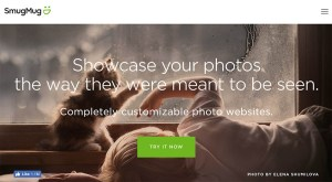 SmugMug online client photo gallery